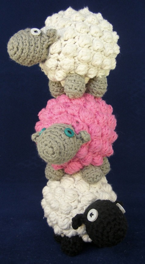 Bobble Sheep by Just Add Crochet (Emma Field)