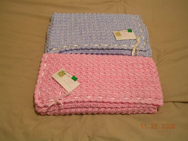 Bubbles Baby Blanket by Deneen St Amour