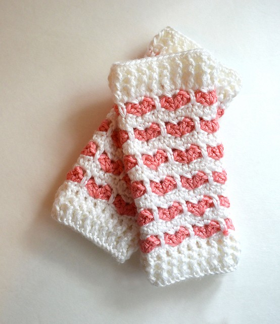 Heart Stitch Leg Warmers by Chelsie Brady