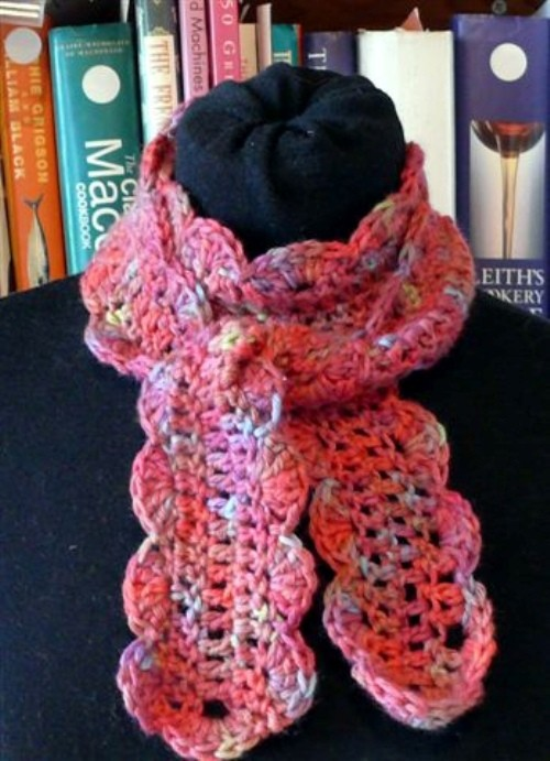 Easy One Skein Scarf Crochet Pattern Is Just What A