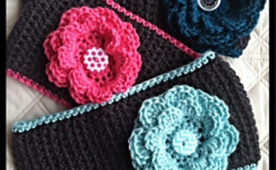 Free Pattern This Fast And Easy Ear Warmer With Removable Button Is
