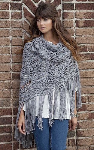 Sidewalk Shawl by Kimberly K. McAlindin