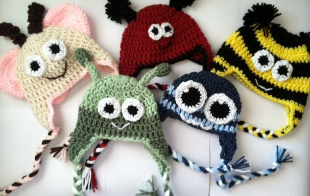 Free Crochet Pattern Basic Beanie : [Free Pattern] Simple, Basic Earflap Hat Available In All ...