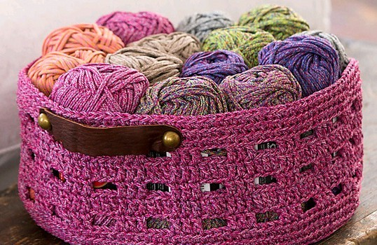 Free Pattern Keep Your Stuff Organized With Style With This Easy