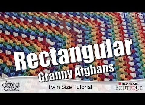 Free Pattern Rectangle Granny Square Blanket Patterns For All