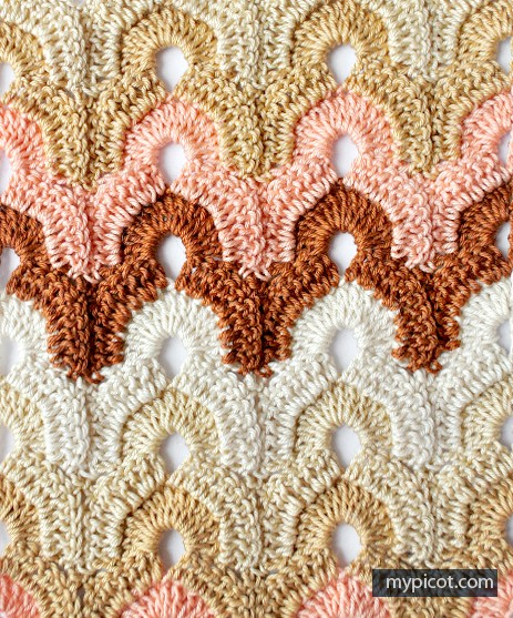 Crochet Stitches Multicolor : Learn A New Stitch: Multicolor Crochet Stitch - Knit And Crochet Daily