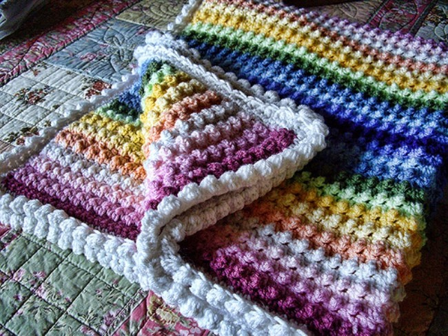 Free Pattern Dreams Really Do Come True With This Stunning Rainbow