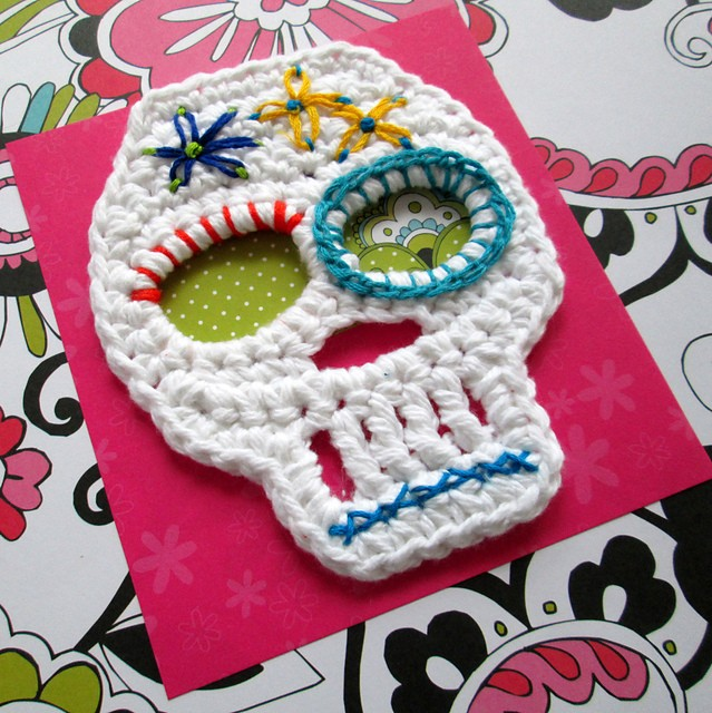 Free Pattern These Skulls Motifs Are Fun Easy And