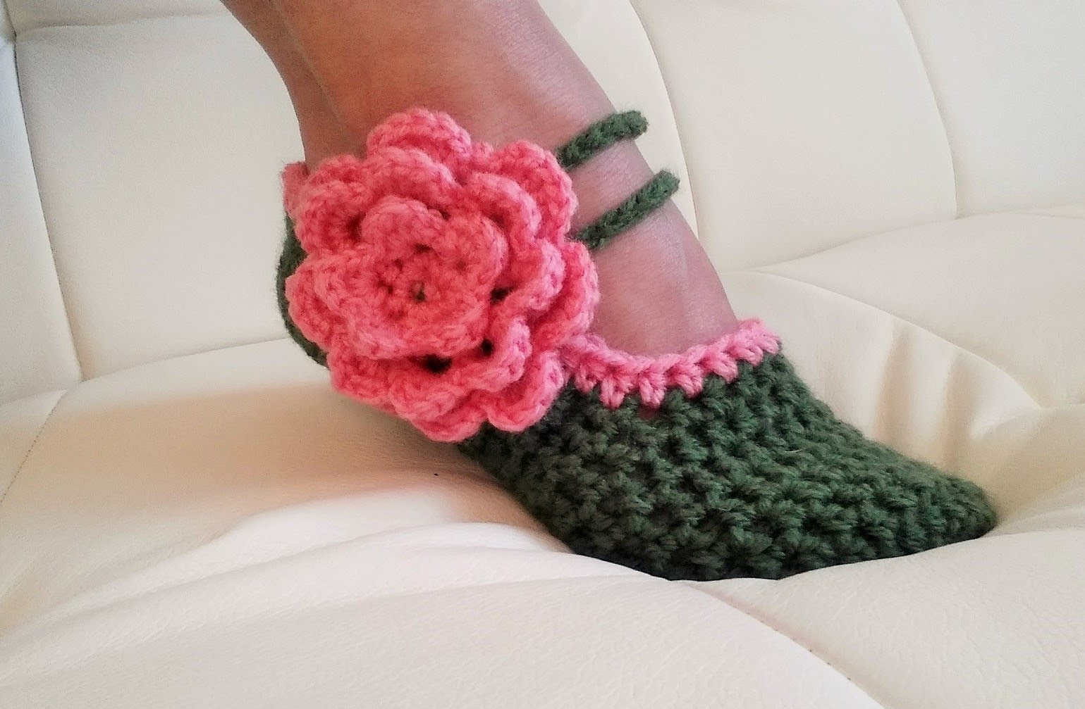 Video Tutorial These Fancy Mary Jane Slippers Are