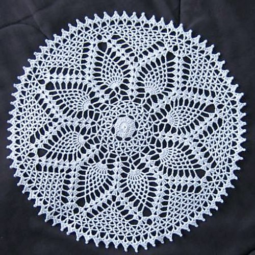 21 Free Crochet Doily Patterns Page 2 Of 3 Knit And Crochet Daily