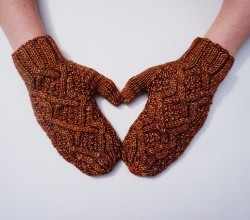 Changing Cable Mittens