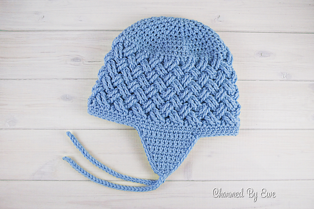 Crochet Pattern For Newborn Hat With Ear Flaps : [Free Pattern] This Hat With Ear Flaps Is Insanely Cute ...