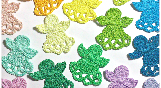 Free Pattern These Cute Little Angels Will Take You To A Dreamworld