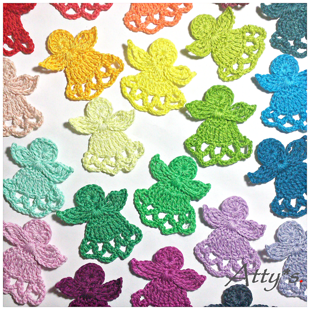 [Free Pattern] These Cute Little Angels Will Take You To A Dreamworld