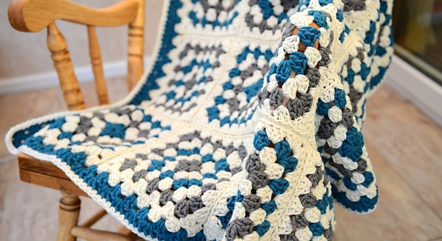 Free Pattern] Is soft, Is Chunky, Is Quick! This Granny Square