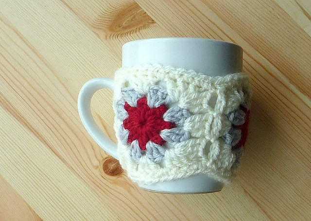 Circle Centre Mug Cosy by Earth and Sky