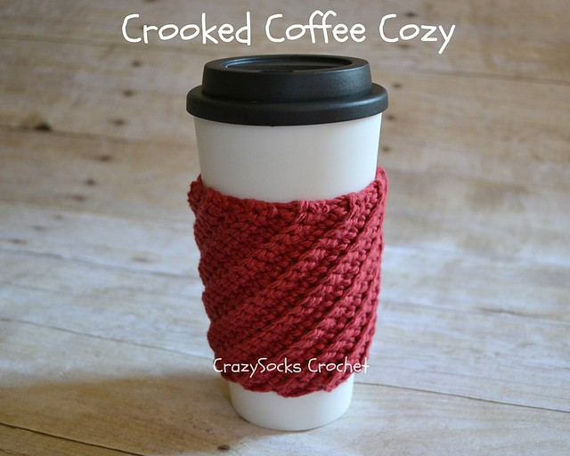 Crooked Coffee Cozy by Danyel Pink