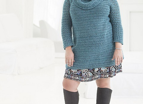 Free Pattern] Simple And Fabulous Curvy Girl Crochet Tunic - Knit ...