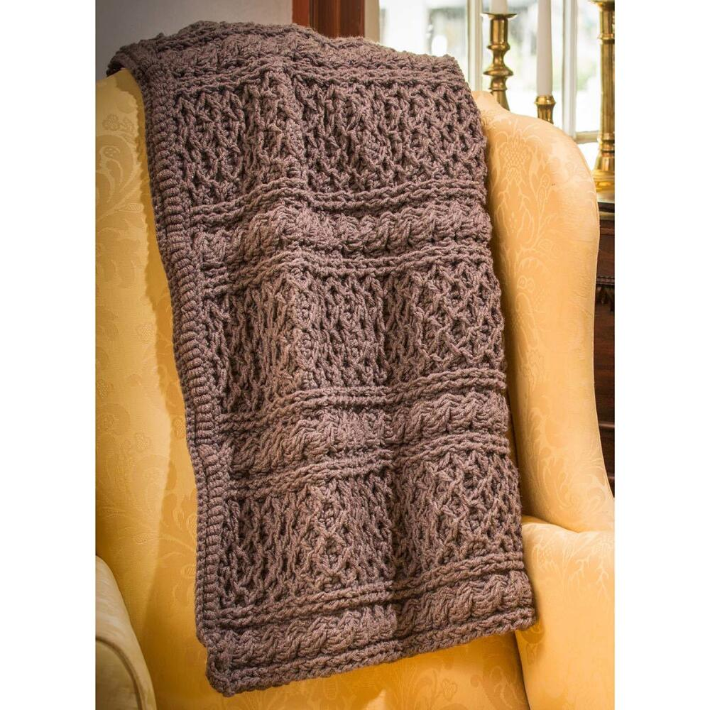 [Free Pattern] Get Cozy With This Classic Downton Abbey Mrs. Hughes' Afghan