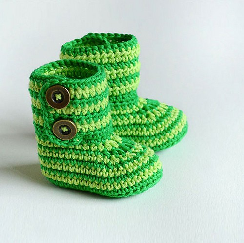 GREEN-ZEBRA-Crochet-Baby-Booties-by-Croby-Patterns