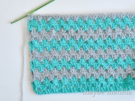 Incredibly Fast And Easy Baby Blanket Crochet Pattern