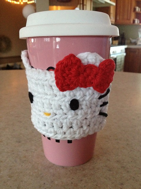 Hello Kitty Cozy for Hot Cups