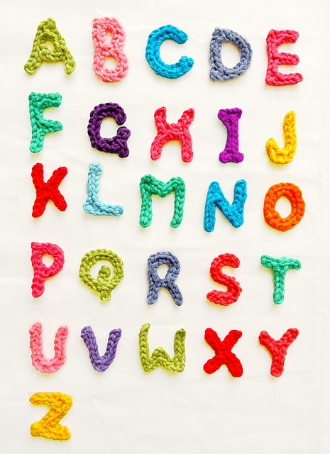 Letters A - Z by Handy Kitty