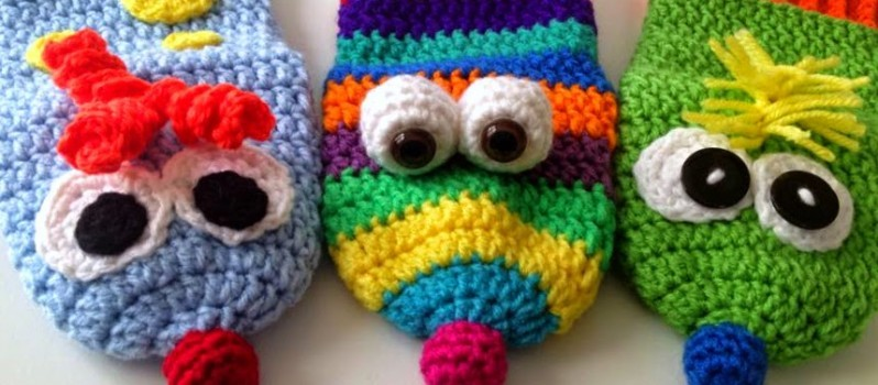 Free Pattern Use Up Scrap Yarn And Make Some Fun Puppets Every Kid