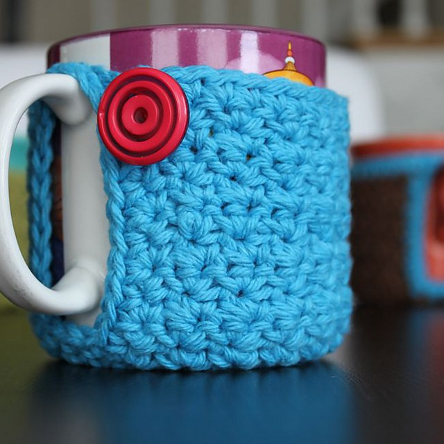Mug Coaster Cozy by Micah York