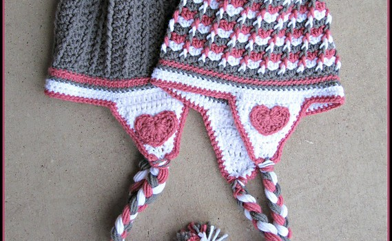 Free Pattern This Earflaps Hat Is Amazingly Cute Knit And