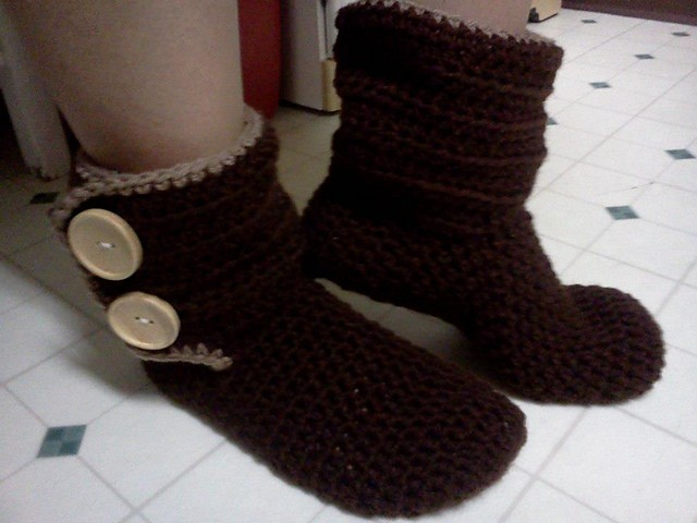Slipper Boots by Denisse Esparza