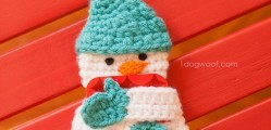 Snowman Gift Card Holder by ChiWei Ranck