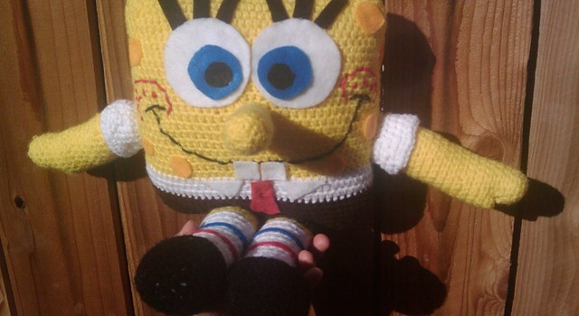 Free Pattern Everybody Loves Spongebob Square Pants Knit And