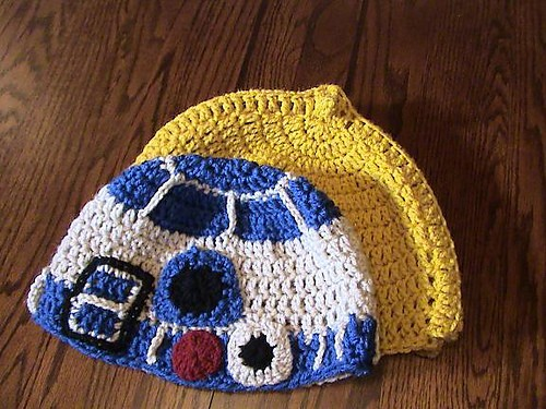 Star Wars Droid Beanies by Jen Spears