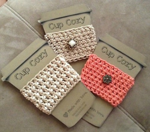 Super Simple Cup Cozy by Sheri Goad
