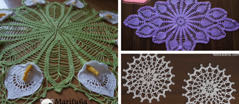 21 Free Crochet Doily Patterns Knit And Crochet Daily
