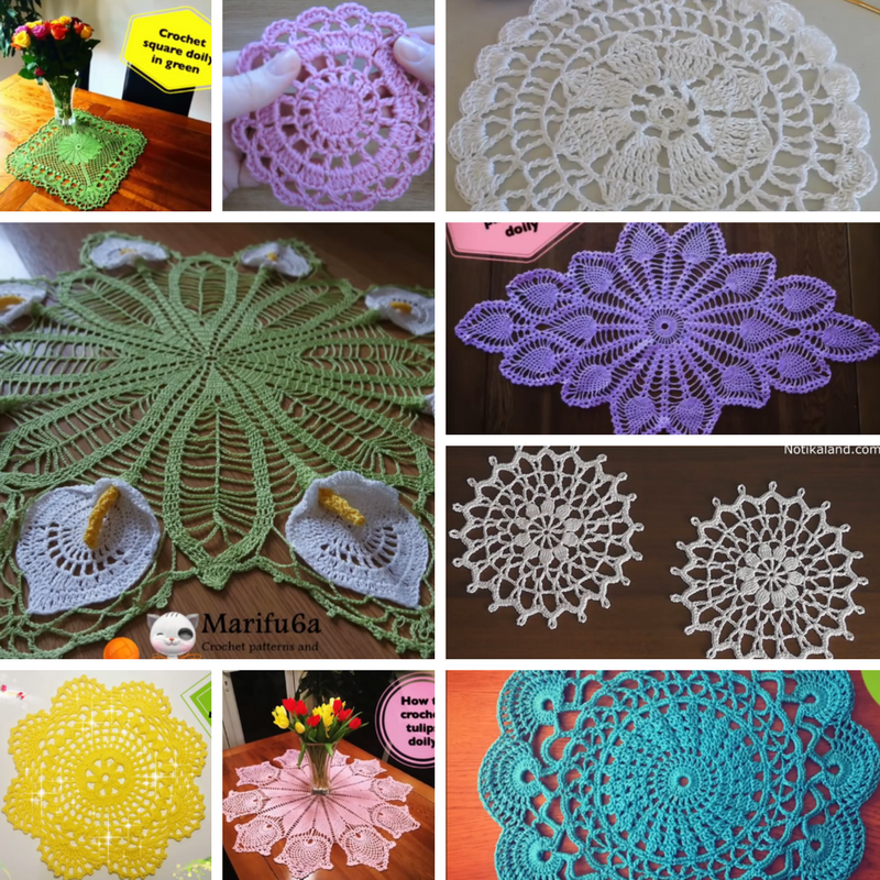 21 Free Crochet Doily Patterns - Knit And Crochet Daily