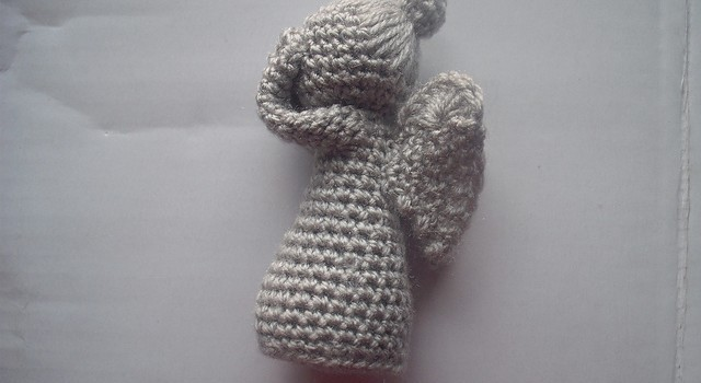 Free Amigurumi Angel : Free pattern] weeping angels never looked so cute knit and crochet