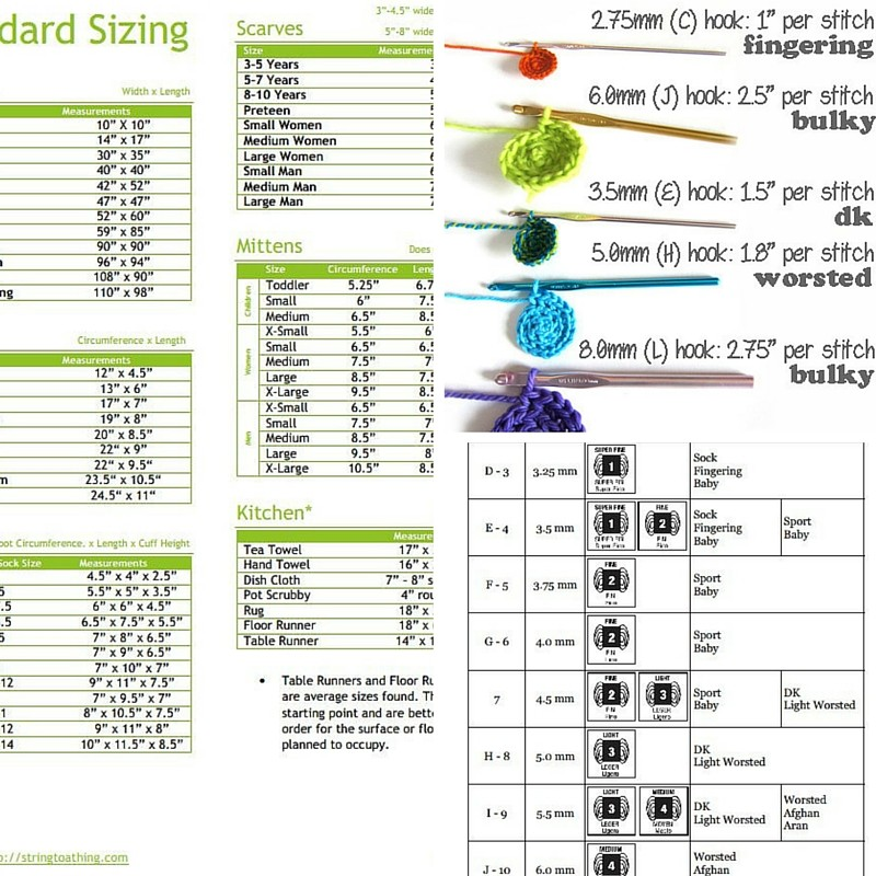 3 Awesome Printable Cheat Sheets To Use For Crochet
