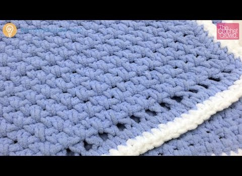 [Video Tutorial] How To Make A Very Simple Crochet Blanket ...