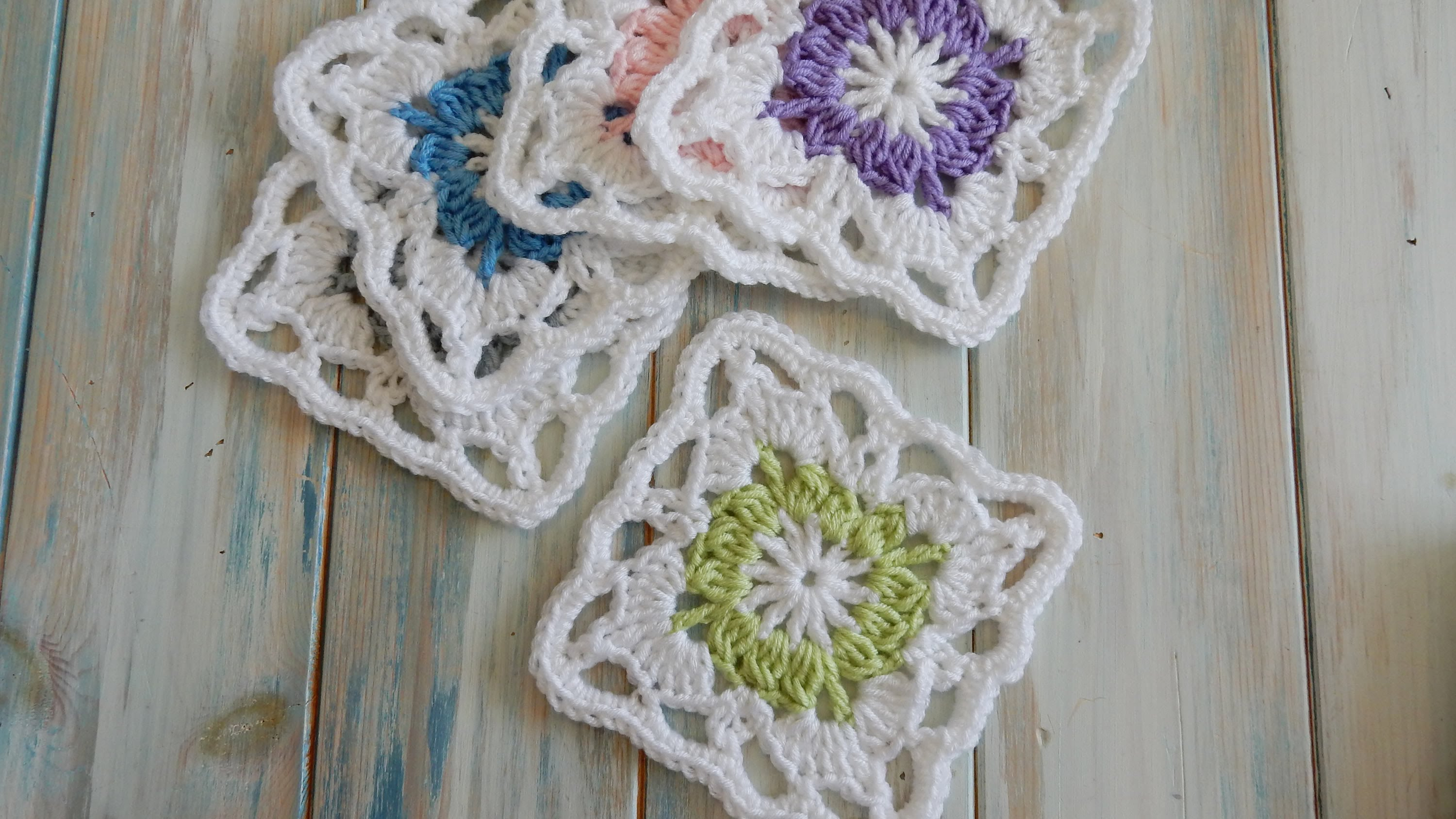 Video Tutorial This Beautiful Vintage Granny Square Can Be Easily