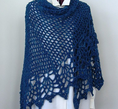 Quick Easy Crochet Shawl Patterns Free : [Free Pattern] Awesomely Easy And Quick Shawl You Need To ...