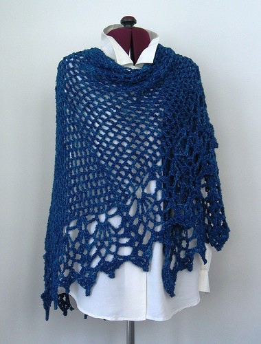Free Pattern Awesomely Easy And Quick Shawl You Need To