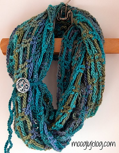 Artfully Simple Infinity Scarf by Tamara Kelly