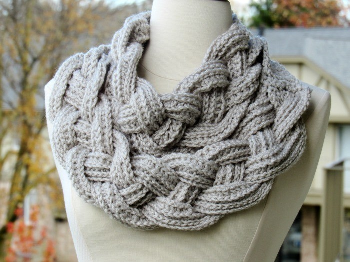 This Amazing Double Layered Braided Crochet Scarf Will Make You Feel Like A Goddess