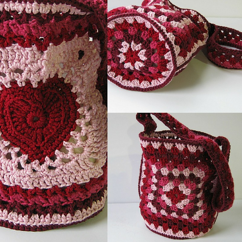 Granny's Valentine Bag by Ana Clerc