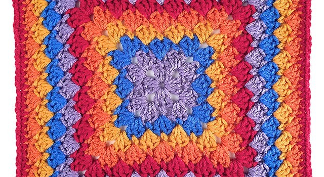 Free Pattern Beautiful And So Eye Catching Harlequin Shells Crochet