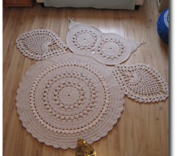 Crochet Rug Archives Knit And Daily