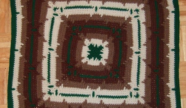 Free Pattern This Square With No Fringe May May Be Your New