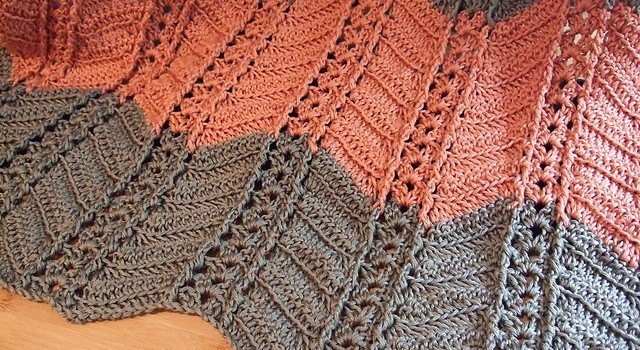 Free Pattern Simply Stunning Shell And Post Stitch Ripple Afghan